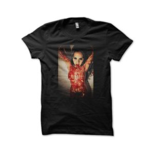 Angel black shirt possession