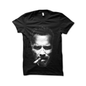 Arnold shirt and black Cigar