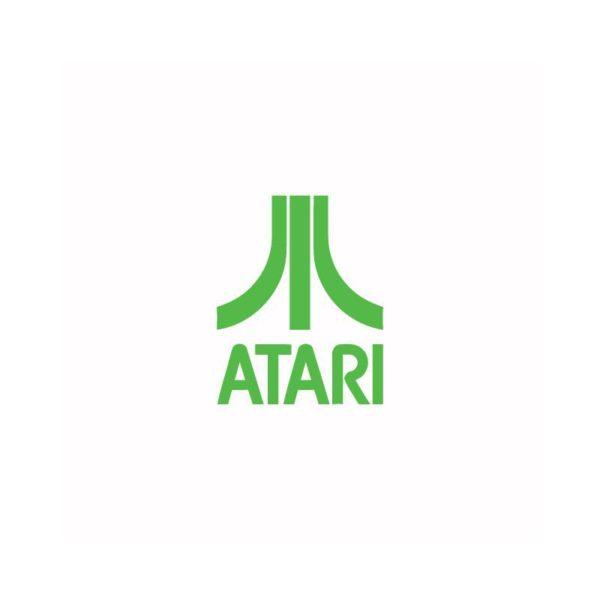 Atari T-Shirt abc geek green-white