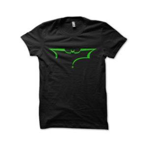 Batman logo shirt mix black riddler