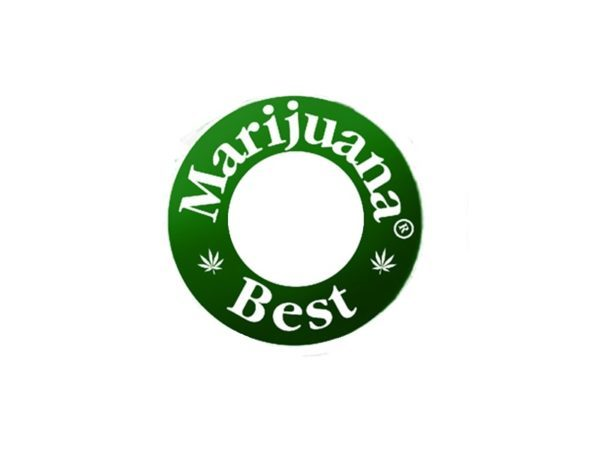 Best Marijuana Beer Caps Logo White