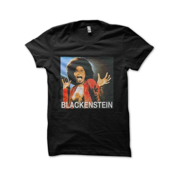 Black tee shirt Blackenstein