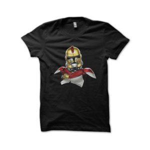Black tee shirt stormtroopers