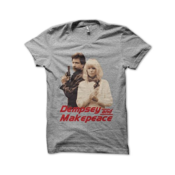 Dempsey and Makepeace shirt gray