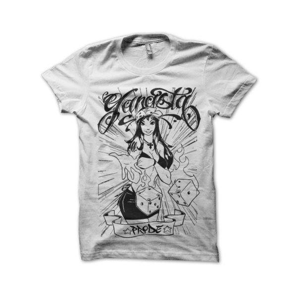 Gangsta Pride t-shirt white