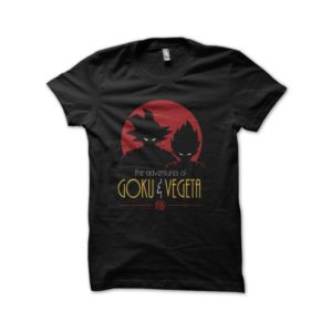 Goku and vegeta dragon ball t-shirt