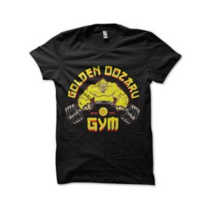 Golden oozaru gym dragon ball t-shirt