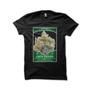 Jack Herer cannabis shirt Top Ten Black