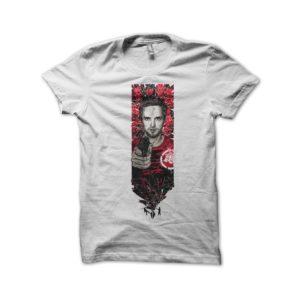 Jesse Pinkman shirt white mosaic
