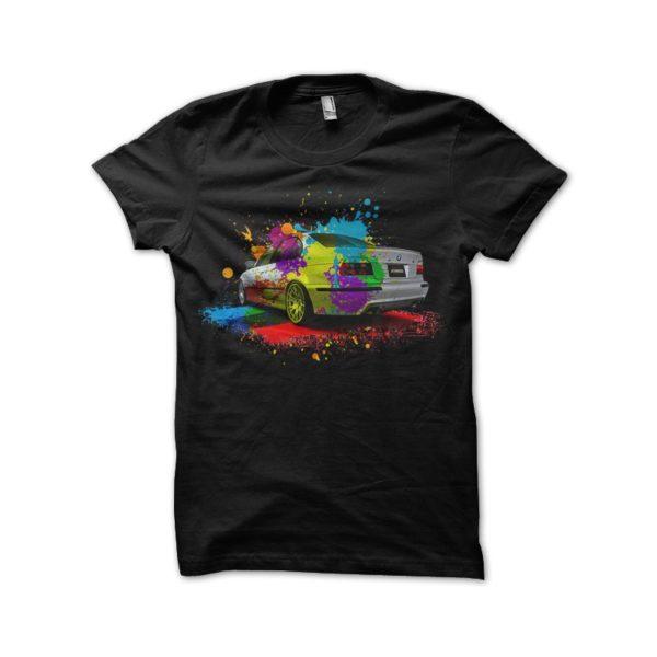 M5 black shirt Splash