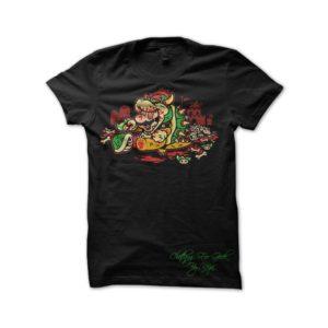 Mario T-Shirt black Drugs