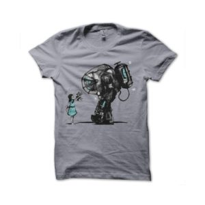 Mechwarrior nuclear girl t-shirt