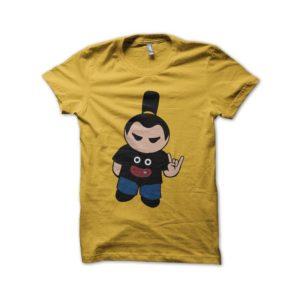 Mr Popo shirt manga addict yellow