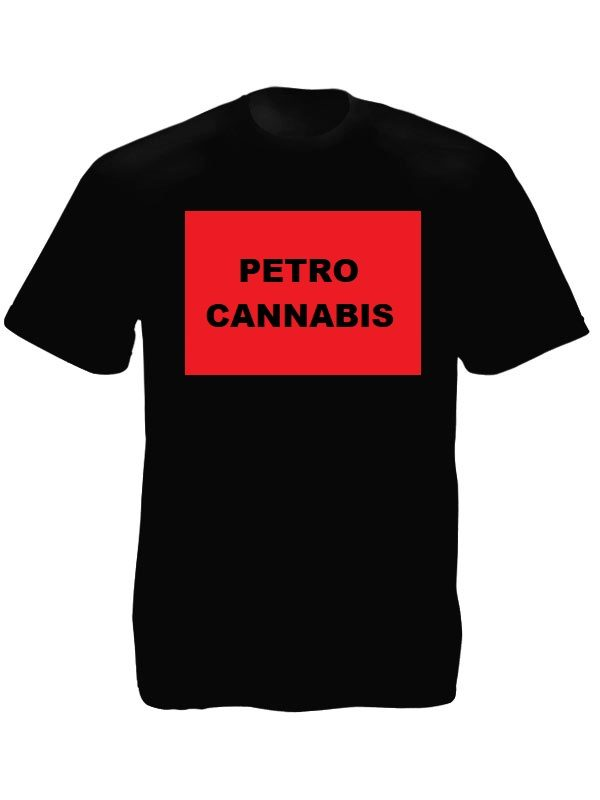Petro Cannabis Tee-Shirt Black