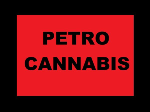 Petro Cannabis Tee-Shirt Black Logo