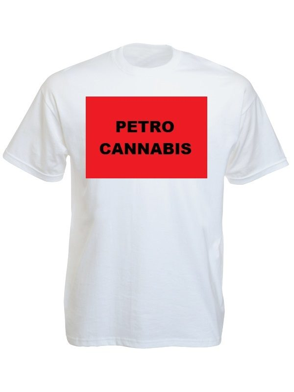 Petro Cannabis Tee-Shirt White