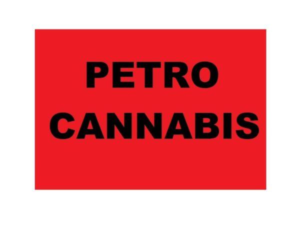Petro Cannabis Tee-Shirt White Logo