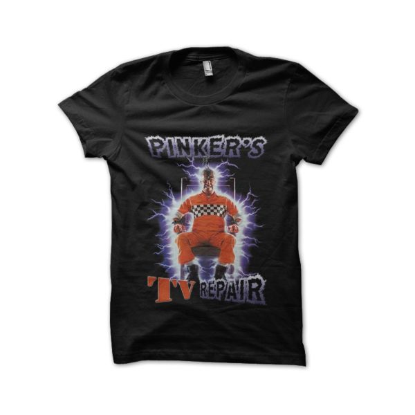 Pinker shocker black t-shirt