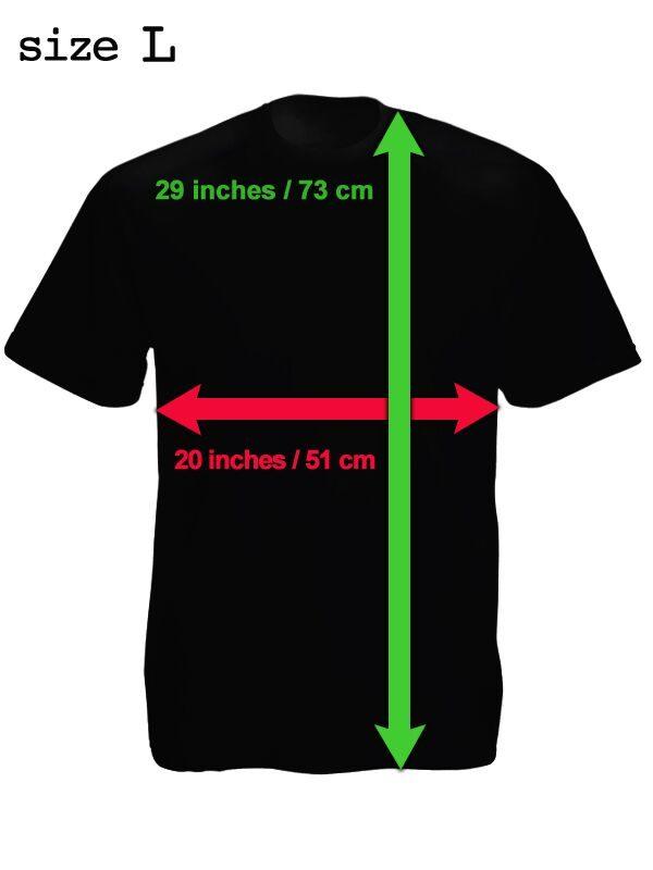 T-shirt Chuck Norris black-gray