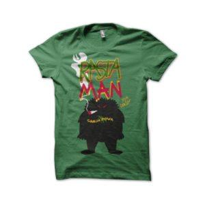 Rastaman green shirt