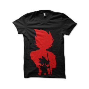 Shadow dragon ball Goku t-shirt