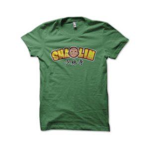 Shaolin Krillin green shirt