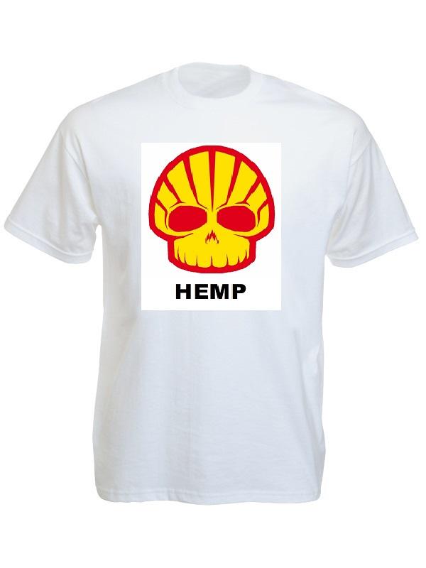 Tee-Shirt Hemp White Tee-Shirt