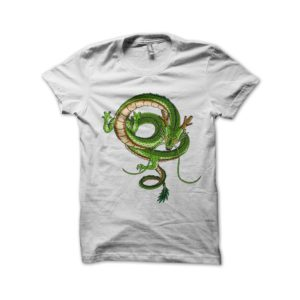 Shirt Dragon Shenron dragon ball z white