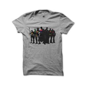 Shirt Justice League super heroes comics gray