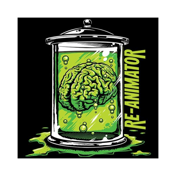 Shirt black brain re-animator