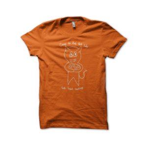 Shirt dark side orange cookies