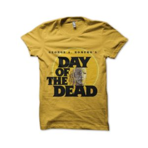 Shirt day of the dead yellow