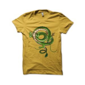 Shirt dragon Shenron Dragon ball z yellow
