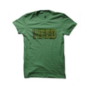 Shirt green weed