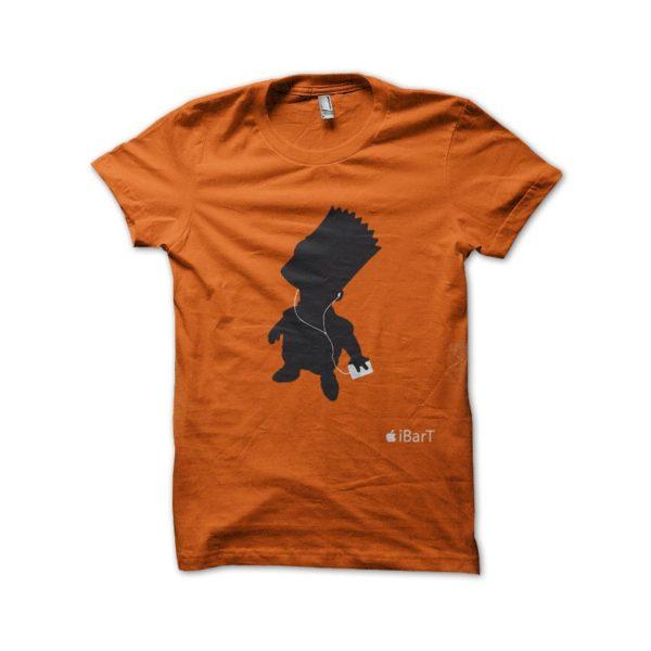 Shirt i bart bart simpson orange