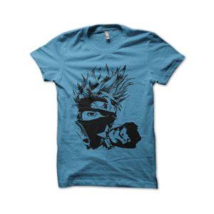 Shirt kakashi naruto artistic blue sky