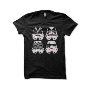 Shirt kiss black star wars