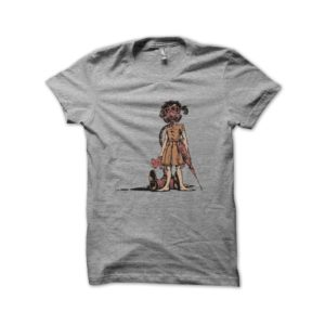 Shirt nuclear fallout girl gray