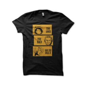 Shirt one piece parody film good the bad and the ugly black