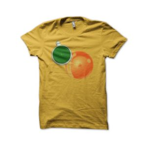 Shirt radar crystal ball Dragon Ball universe yellow