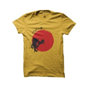 Shirt rising sun Vegeta dragon ball