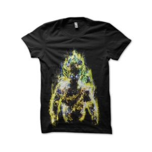 Shirt super sayan electro dragon ball