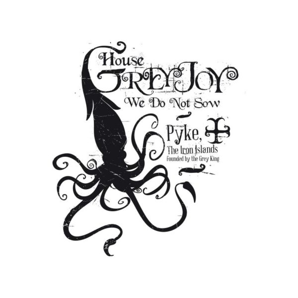 Shirt white house Greyjoy
