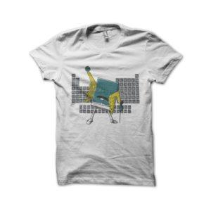Shirt white keyboard chemistry