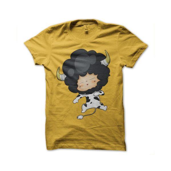 Sleepy Lambo yellow shirt