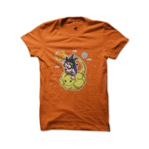 Songoku magical cloud t-shirt