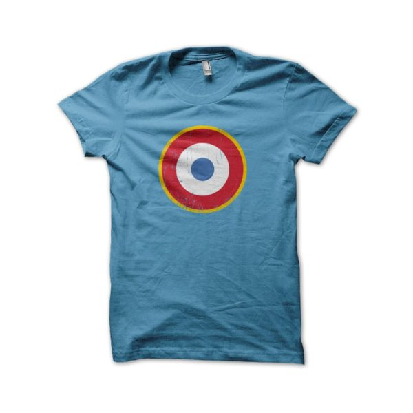 T Shirt The Who - The Who - France Rosette - Blue
