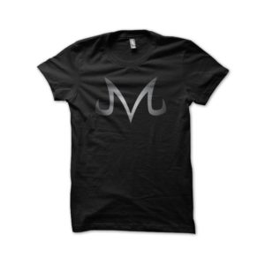 T-shirt Dragon Ball Majin symbol black