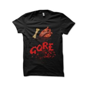 T-shirt I Love Black Gore