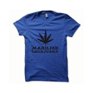 T-shirt Marilize Legajuana black-blue